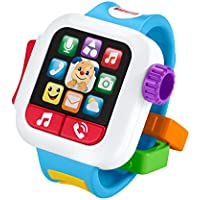 Fisher-Price GJW17 Laugh & Learn Time to Learn Smartwatch Musical Baby Toy