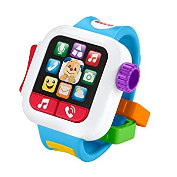 Fisher-Price GJW17 Laugh & Learn Time to Learn Smartwatch Musical Baby Toy Multicolor
