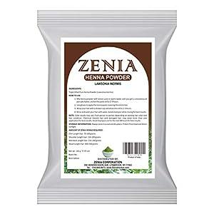 Zenia Pure Natural Henna Powder Hair Dye Color 908 grams (2 lbs)
