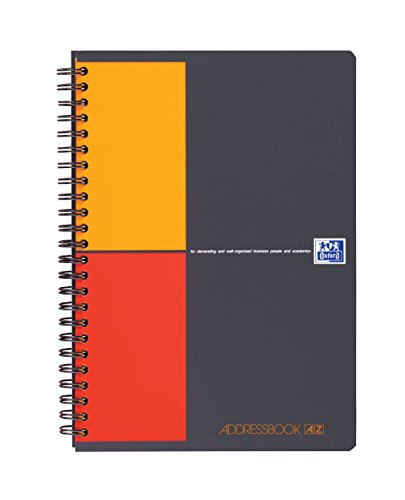 Oxford Addressbook International - Cuaderno, A rayas , A5, 72 hojas