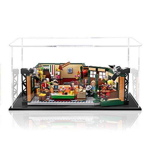 TONGJI Vitrina de Acrílico Compatible con Lego 21319 Ideas - Central Perk, Vitrina A Prueba De Polvo (Modelo No Incluido)