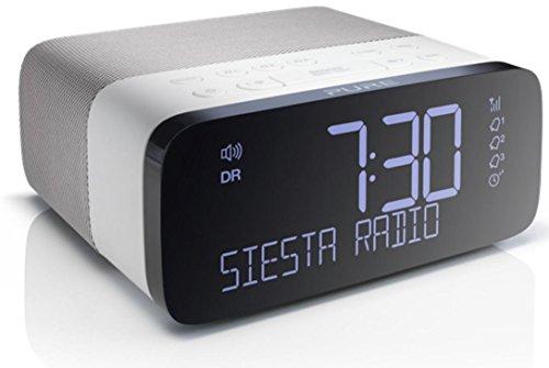 Pure Siesta Rise (DAB Digitale Radiosveglia FM) Bianco