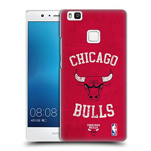 Official NBA Distressed Look 2019/20 Chicago Bulls Hard Back Case Compatible for Huawei P9 Lite / G9 Lite