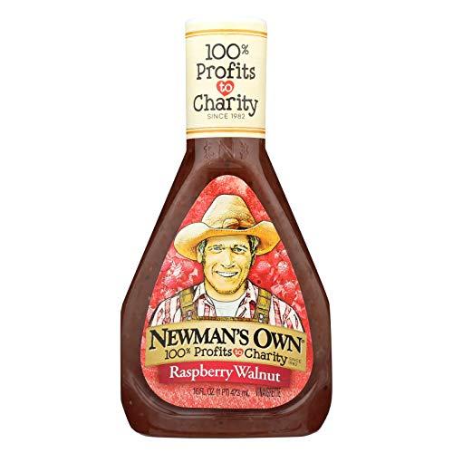 Newman's Own Dressing Raspberry & Walnut Vinaigrette 16 oz. (Pack of 6)