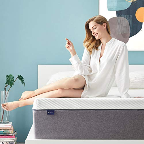 Queen Mattress, Ssecretland 14 inch Gel Memory Foam Mattress with Breathable Cover (Mattress Only) Medium Feels-Bed Mattress in a Box