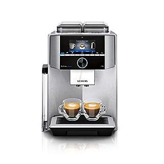 Siemens TI9578X1DE EQ.9 plus connect s700 Kaffeevollautomat Personalisierung, 2 Bohnenbehälter, Mahlwerke, extra leise, 1.500 Watt, Edelstahl (B0859ZC1Z1) | Amazon price tracker / tracking, Amazon price history charts, Amazon price watches, Amazon price drop alerts