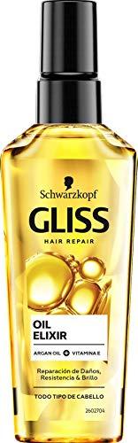 Schwarzkopf Gliss Hair Repair Oil Elixir Traitement des Cheveux