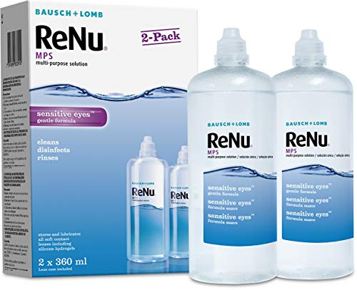 Bausch & Lomb ReNu MPS Mehrzweck Kontaktlinsen Lösung–2er Pack