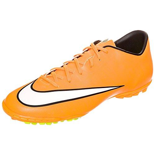 Nike Mercurial Victory V Tf - Scarpe da calcio da uomo, Uomo, Arancione, 40,5