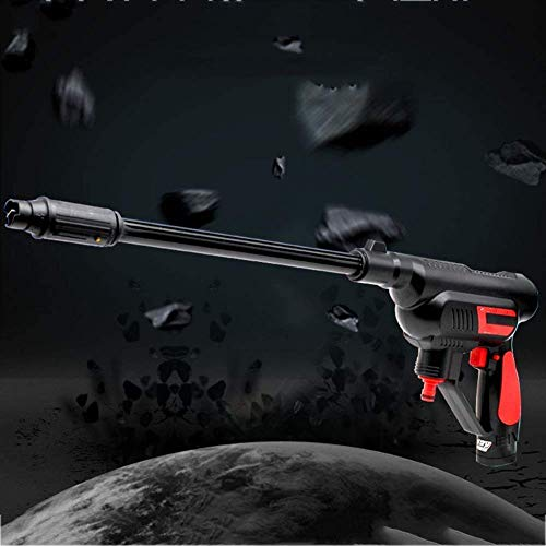 Zjcpow Multi-Function High Pressure Car Washer, Cleaner 12V Cordless Wireless Handheld Water, for Gun Cleaning Wash W/Nozzles Tip xuwuhz (Size : 1)