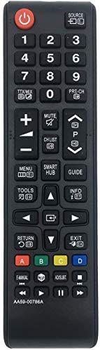 FireRune Nuevo Samsung AA59-00786A Mando a Distancia de Repuesto, sin Necesidad de programación: Ajuste HDTV LED Plasma LCD LED Smart TV, reemplazo AA59-00741A BN59-01175N BN59-01199F
