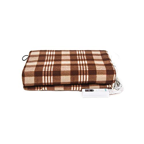 U-smile Electric Blanket Size 40 77 cm Fully Fitted Heated Elasticated with Timer, Comfort Settings Machine Washable