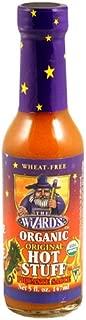Organic Wizard's Sauce, Original Hot Stuff, 5-Ounce Bottles (Pack of 12)