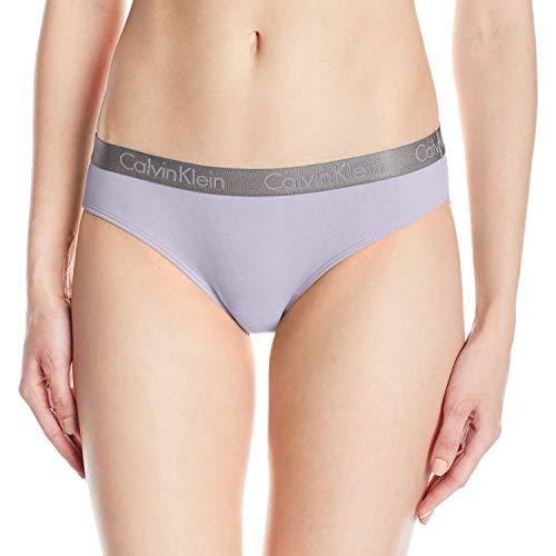 Calvin Klein Women's Radiant Cotton Bikini Panty, Purple Aurora, S