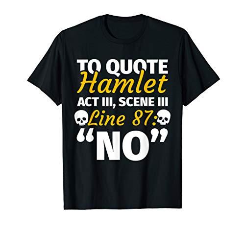 Englischlehrer Geschenke - lustiger Spruch Englisch Hamlet