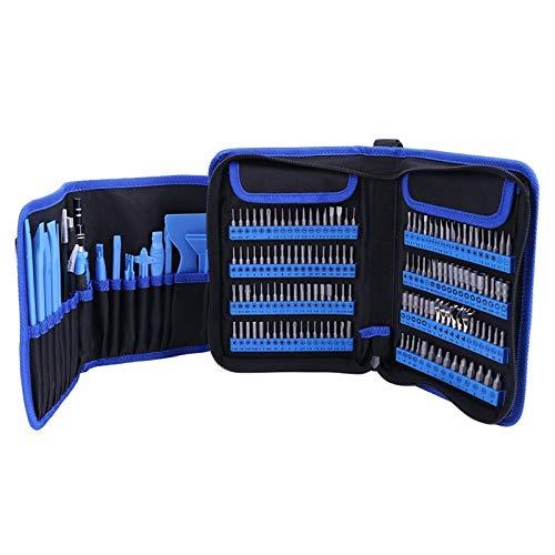 ZXQC Juego De bits De Tornillo Magnético Conjuntos De Doble Destornillador De 180 En 1, Herramientas De Reparación De Dispositivos De Reparación De Dispositivos De Reparación De Teléfono Móvil