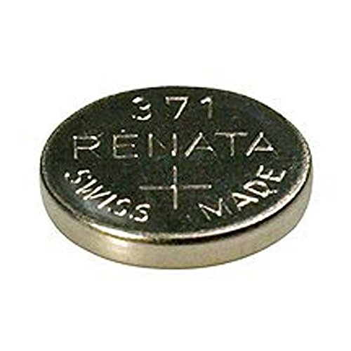 Renata Uhrenbatterie 371oder SR920SW, Swissness, 1,5V 1 x 371 or SR 920 SW silber