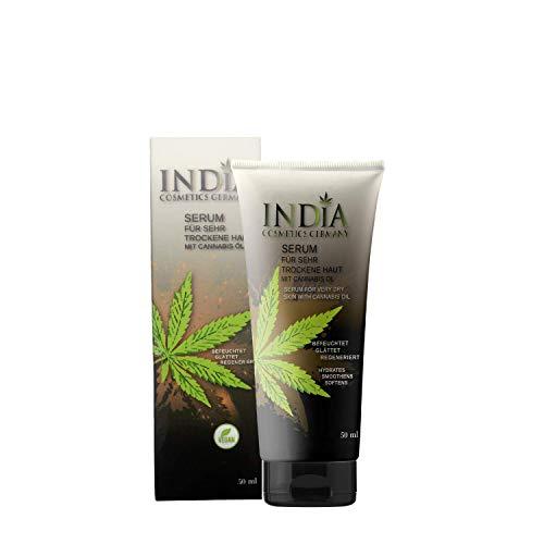Serum Hautcreme mit Cannabis Öl. Hanfcreme für sehr trockene Haut und Gesicht. Hautpflege bei Schuppenflechte und Neurodermitis. Cannabis Creme für schöne Haut