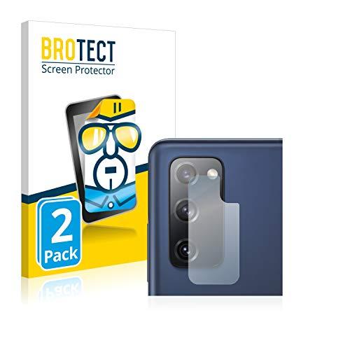 BROTECT Schutzfolie kompatibel mit Samsung Galaxy S20 FE (Kamera) (2 Stück) klare Displayschutz-Folie
