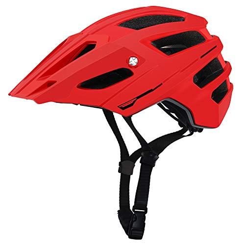 Casque de Sport de vélo de Montagne d'endurance Cross-Country-Red