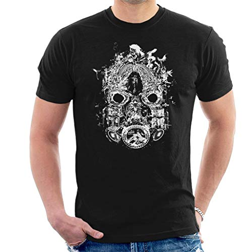 Borderlands 3 Mask of Mayhem White Print Men's T-Shirt