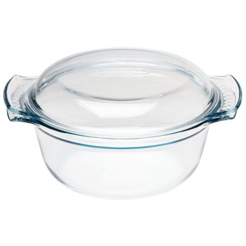 Pyrex Round Glass Casserole Dish 2.5Ltr 280 x 230 x 110mm