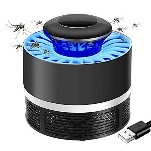 YHDP Lampada Anti-zanzara USB, Lampada antizanzare zanzara, Nessuna radiazione Bug Zapper Cordless USB Alimentato a zanzara elettrica Lampada Anti-Insetti zanzara Trappola per Mosche Indoor