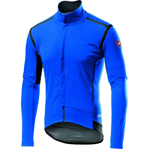Castelli Perfetto ROS Convertible Jacket - Men's Drive Blue, L