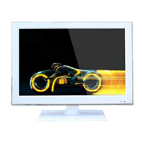 Televisor LCD LED portátil de 19 pulgadas, televisor digital inteligente de alta definición de ángulo ajustable, se puede conectar a VGA / AV / TV / DVD / HDM, utilizado en la sala de estar / dormit