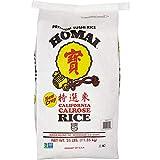 Homai Medium Grain Calrose Rice, 25lbs