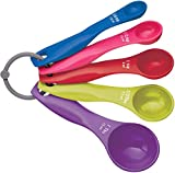 Kitchen Craft Colourworks Set 5 cucchiai dosatori...