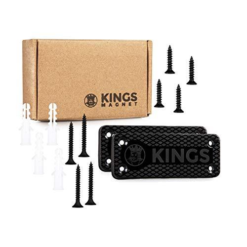 KINGS MAGNET Gun Holder | Rubber Coated Magnetic Concealment...