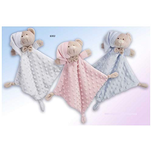 Gamberritos 9353d - Doudou, 23 x 23 cm, color blanco