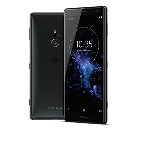 Sony Xperia XZ2 Unlocked Smarphone - Dual SIM - 5.7' Screen - 64GB - Liquid Black (US Warranty)