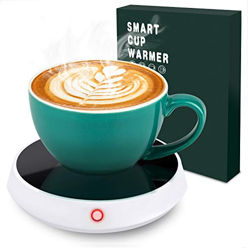 Cup Warmer, Coffee Mug Warmer for Desk Auto Shut Off, 2 Temperature Setting Touch Screen Smart Cup Warmer for Warming or Heating Coffee, Milk, Tea, Water, Beverage Etc. Best for Christmas, Birthdays, Anniversary and Aarious Holidays Great Gift. (2)