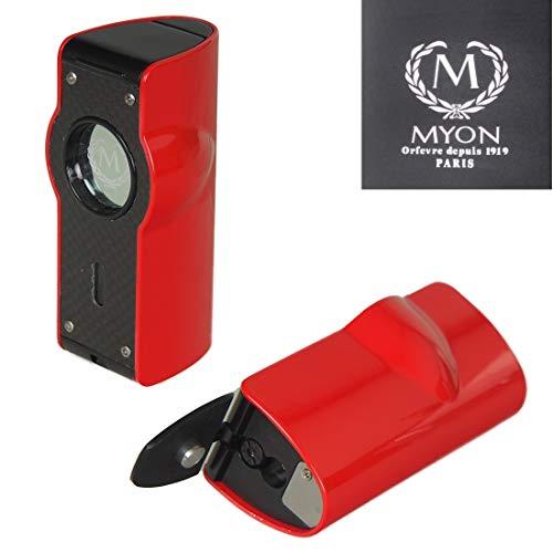 Lifestyle-Ambiente Tastingbogen Zigarrenascher de Luxe MYON of Paris inkl
