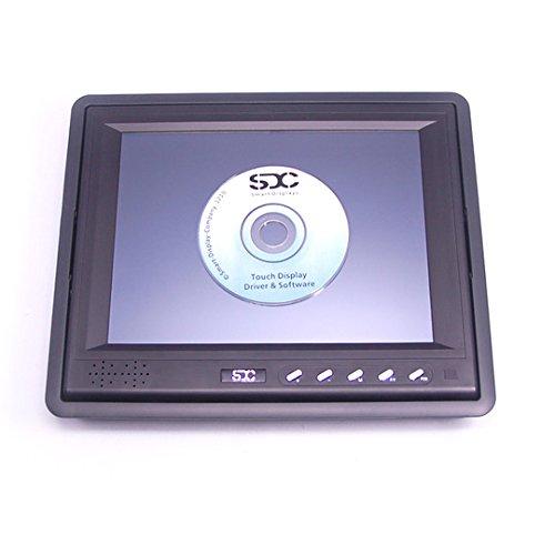 SDC SDC-T8 8 Zoll Touchscreen Monitor mit VGA und AV Anschluss