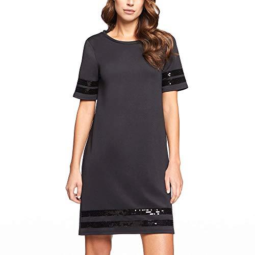 YAMAY® jurk met korte mouwen voor feestjes.