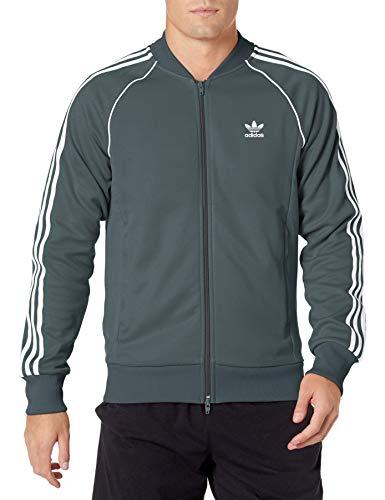 adidas Originals Men's Adicolor Classics Primeblue SST Track Jacket, Blue Oxide, X-Small