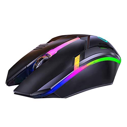 Mecánica Armor Shape D es genial, una nueva generación de ratón diseñado G6 con cable USB luminoso ratón