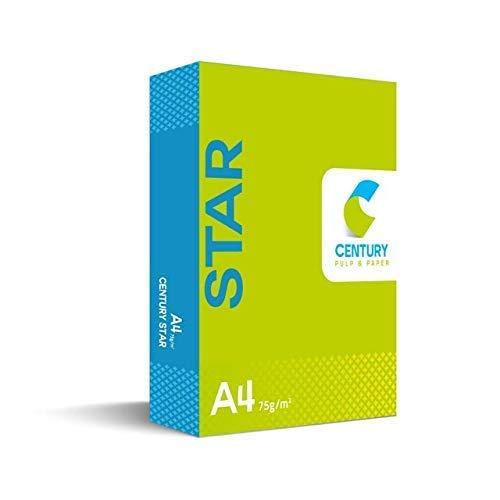 Century Star Copier Paper - A4 Ssze, 75 GSM, 1 Ream 500 Sheet
