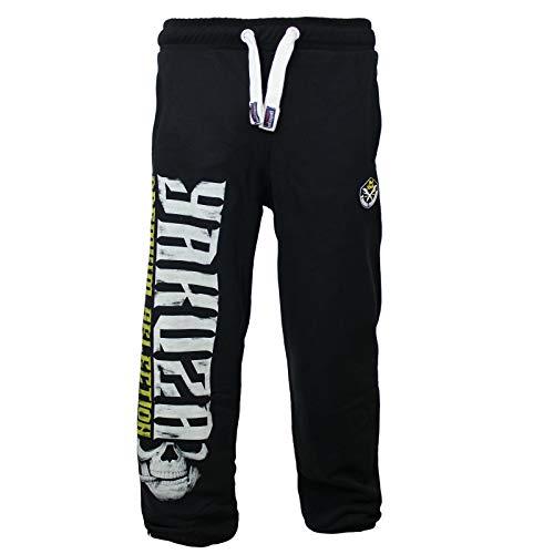 Yakuza Premium Herren Jogginghose 2681 schwarz Sweatpants