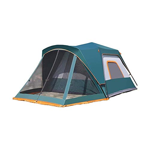 SQQSLZY Tent Family Camping Tent 5-6 Person Portable Tent Automatic Tent Waterproof Windproof for Camping Hiking Mountaineering