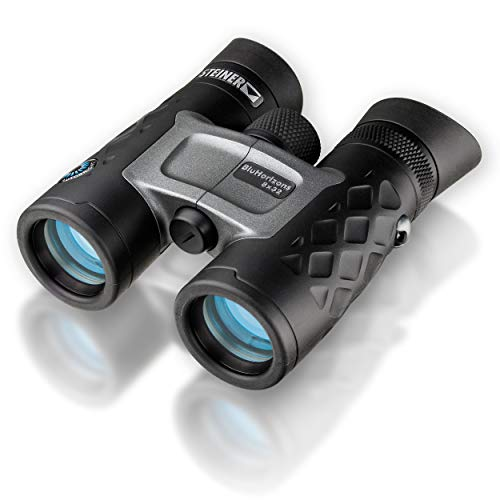 Steiner BluHorizons 8x32 Binoculars - Unique lens technology, eye protection, compact, lightweight - Ideal for holiday in sunny countries, outdoor activities and sports