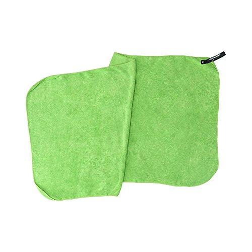 Sea to Summit Tek Towel - Schnelltrocknendes Flauschiges Reisehandtuch (Lime, S - 40x80cm - 140g)