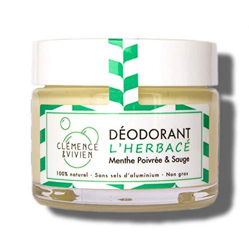 Clémence & Vivien Déodorant Crème Herbacé 50 g