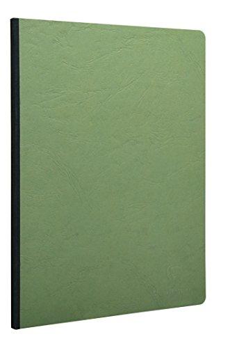 Clairefontaine 791403C - Cuaderno interior liso, 192 páginas, color verde