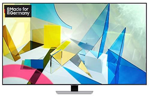 Samsung GQ-55Q84T QLED-Fernseher, silber, UltraHD/4K, Twin Triple Tuner, HDR