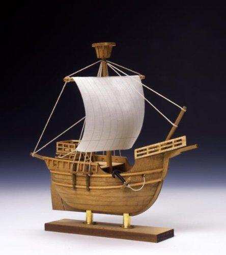 ウッディジョー 帆船 ミニ帆船4 カタロニア船 木製模型