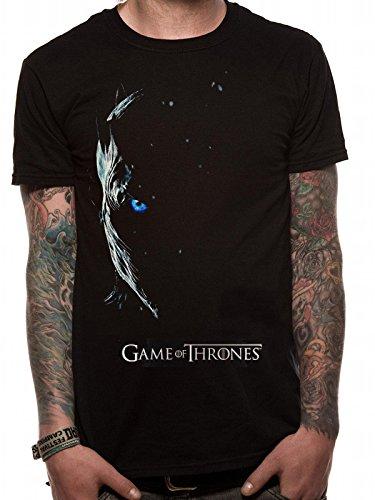 Game Of Thrones White Walker Camiseta, Negro (Black Black), XX-Large para Hombre